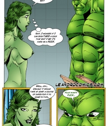 Hulk versus She Hulk – Part 1