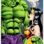 Hulk comics. Part II. Wonder Woman versus the Incredibly Horny Hulk!