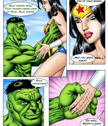 Hulk vs. Wonder Woman III: An Anal Reckoning!