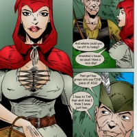 Little Red Riding Hood meets the Hunter's Cock - Part 1