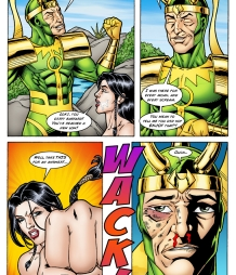 Lady Sif gets hard anal sex from Loki under the guise of Thor! Part IV.