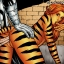 Moon Knight bumping uglies with sexy Tigra