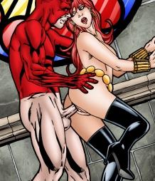 Daredevil fucking Black Widow hard!