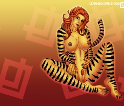 Tigra makes your desktop purr in December!