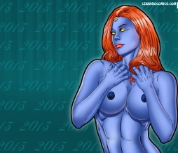 Have a Happy New Year 2013 with Mystique as your wallpaper!